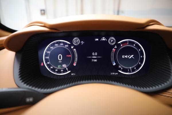 New 2021 Aston Martin DBX for sale $207,886 at Alfa Romeo of Greenwich in Greenwich CT 06830 18