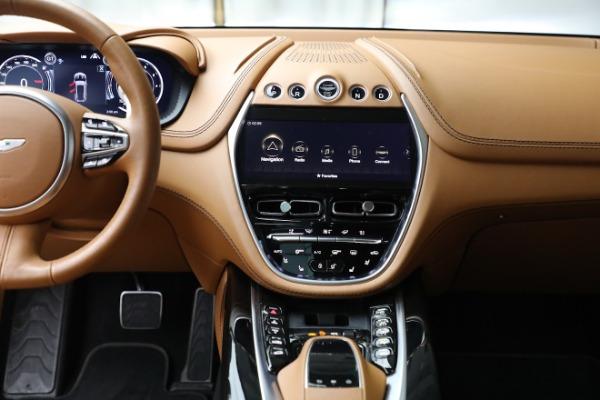 New 2021 Aston Martin DBX for sale $207,886 at Alfa Romeo of Greenwich in Greenwich CT 06830 20