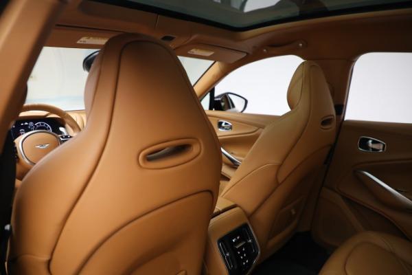 New 2021 Aston Martin DBX for sale $207,886 at Alfa Romeo of Greenwich in Greenwich CT 06830 21
