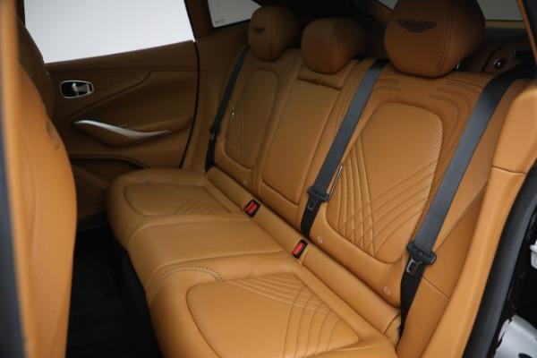 New 2021 Aston Martin DBX for sale $207,886 at Alfa Romeo of Greenwich in Greenwich CT 06830 24
