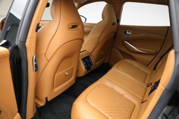 New 2021 Aston Martin DBX for sale $207,886 at Alfa Romeo of Greenwich in Greenwich CT 06830 25