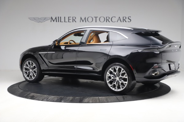 New 2021 Aston Martin DBX for sale $207,886 at Alfa Romeo of Greenwich in Greenwich CT 06830 3