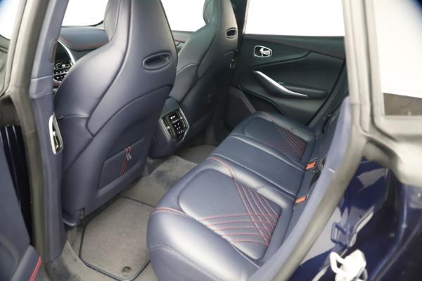 New 2021 Aston Martin DBX for sale $213,086 at Alfa Romeo of Greenwich in Greenwich CT 06830 19