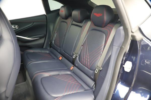 New 2021 Aston Martin DBX for sale $213,086 at Alfa Romeo of Greenwich in Greenwich CT 06830 20