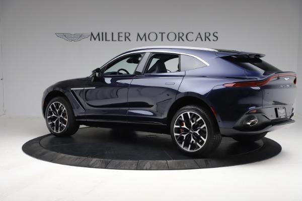 New 2021 Aston Martin DBX for sale $213,086 at Alfa Romeo of Greenwich in Greenwich CT 06830 3