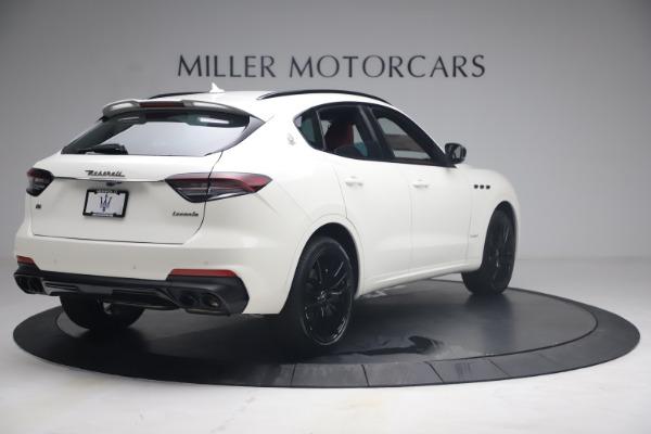 New 2021 Maserati Levante Q4 GranSport for sale $92,485 at Alfa Romeo of Greenwich in Greenwich CT 06830 8