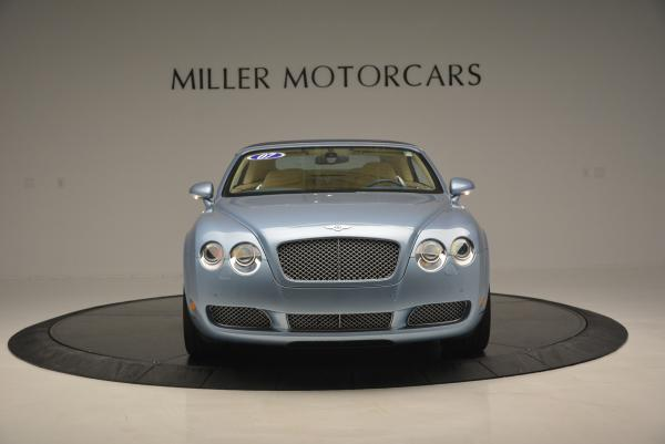 Used 2007 Bentley Continental GTC for sale Sold at Alfa Romeo of Greenwich in Greenwich CT 06830 12