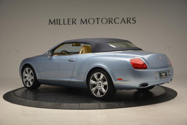 Used 2007 Bentley Continental GTC for sale Sold at Alfa Romeo of Greenwich in Greenwich CT 06830 16
