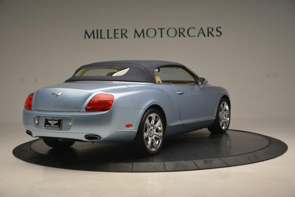 Used 2007 Bentley Continental GTC for sale Sold at Alfa Romeo of Greenwich in Greenwich CT 06830 19