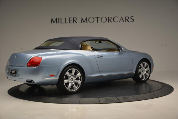 Used 2007 Bentley Continental GTC for sale Sold at Alfa Romeo of Greenwich in Greenwich CT 06830 20