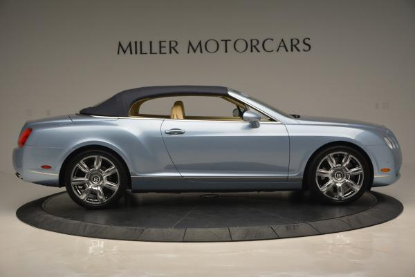 Used 2007 Bentley Continental GTC for sale Sold at Alfa Romeo of Greenwich in Greenwich CT 06830 21