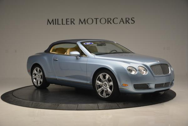 Used 2007 Bentley Continental GTC for sale Sold at Alfa Romeo of Greenwich in Greenwich CT 06830 22