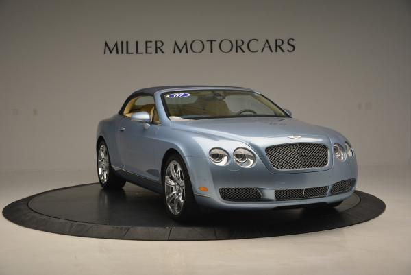 Used 2007 Bentley Continental GTC for sale Sold at Alfa Romeo of Greenwich in Greenwich CT 06830 23
