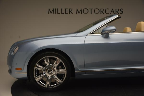 Used 2007 Bentley Continental GTC for sale Sold at Alfa Romeo of Greenwich in Greenwich CT 06830 28