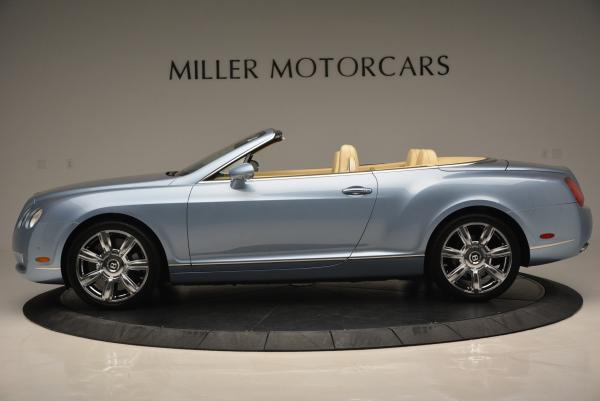 Used 2007 Bentley Continental GTC for sale Sold at Alfa Romeo of Greenwich in Greenwich CT 06830 3