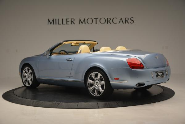 Used 2007 Bentley Continental GTC for sale Sold at Alfa Romeo of Greenwich in Greenwich CT 06830 4