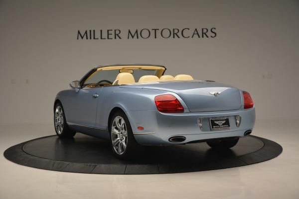 Used 2007 Bentley Continental GTC for sale Sold at Alfa Romeo of Greenwich in Greenwich CT 06830 5