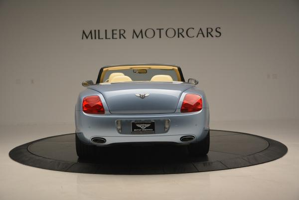 Used 2007 Bentley Continental GTC for sale Sold at Alfa Romeo of Greenwich in Greenwich CT 06830 6