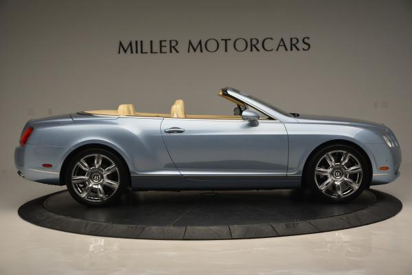Used 2007 Bentley Continental GTC for sale Sold at Alfa Romeo of Greenwich in Greenwich CT 06830 9
