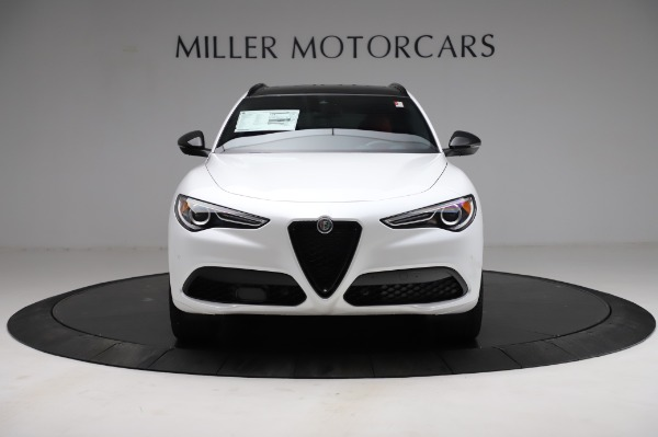 New 2021 Alfa Romeo Stelvio Ti Sport Q4 for sale $56,240 at Alfa Romeo of Greenwich in Greenwich CT 06830 12