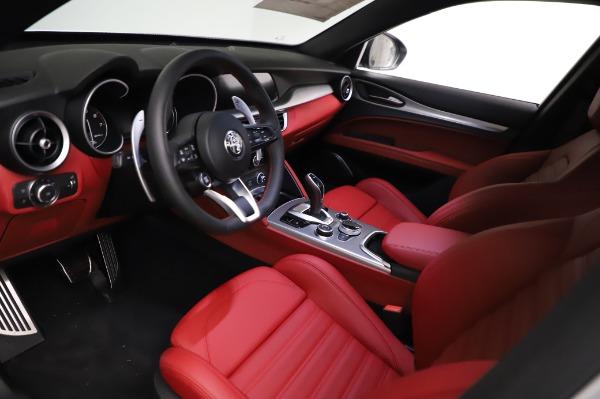 New 2021 Alfa Romeo Stelvio Ti Sport Q4 for sale $56,240 at Alfa Romeo of Greenwich in Greenwich CT 06830 13
