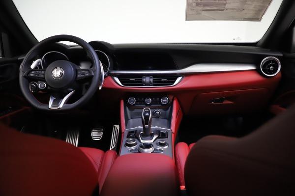 New 2021 Alfa Romeo Stelvio Ti Sport Q4 for sale $56,240 at Alfa Romeo of Greenwich in Greenwich CT 06830 16