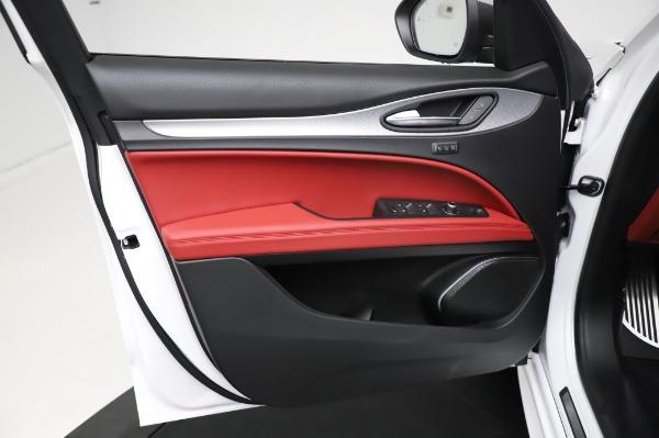 New 2021 Alfa Romeo Stelvio Ti Sport Q4 for sale $56,240 at Alfa Romeo of Greenwich in Greenwich CT 06830 17