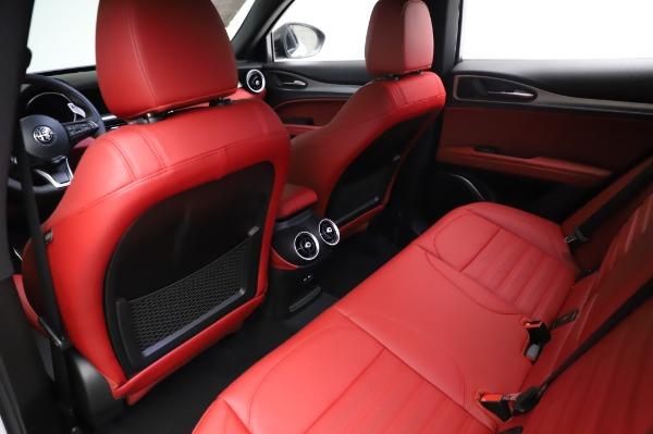 New 2021 Alfa Romeo Stelvio Ti Sport Q4 for sale $56,240 at Alfa Romeo of Greenwich in Greenwich CT 06830 18