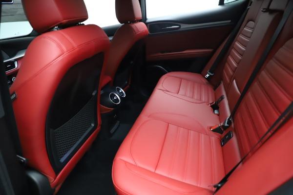 New 2021 Alfa Romeo Stelvio Ti Sport Q4 for sale $56,240 at Alfa Romeo of Greenwich in Greenwich CT 06830 19