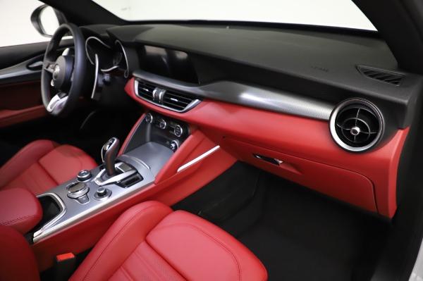 New 2021 Alfa Romeo Stelvio Ti Sport Q4 for sale $56,240 at Alfa Romeo of Greenwich in Greenwich CT 06830 22