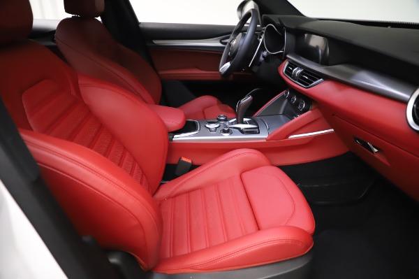New 2021 Alfa Romeo Stelvio Ti Sport Q4 for sale $56,240 at Alfa Romeo of Greenwich in Greenwich CT 06830 23