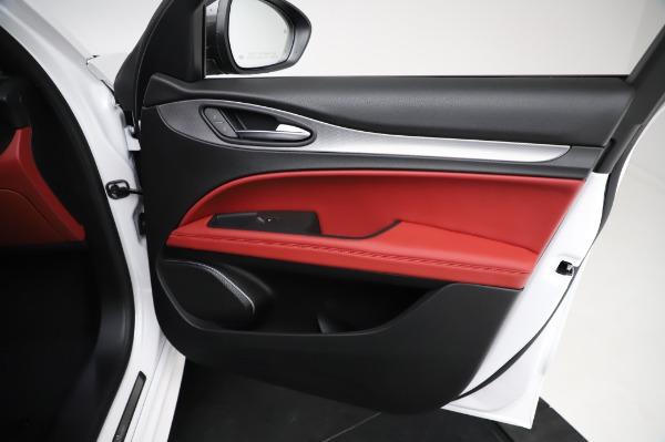 New 2021 Alfa Romeo Stelvio Ti Sport Q4 for sale $56,240 at Alfa Romeo of Greenwich in Greenwich CT 06830 24