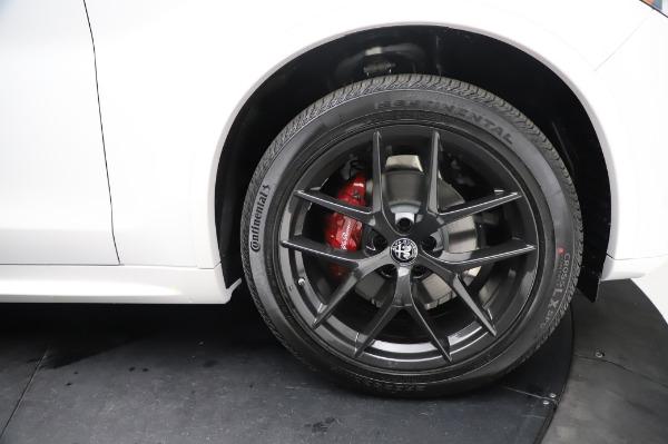 New 2021 Alfa Romeo Stelvio Ti Sport Q4 for sale $56,240 at Alfa Romeo of Greenwich in Greenwich CT 06830 28