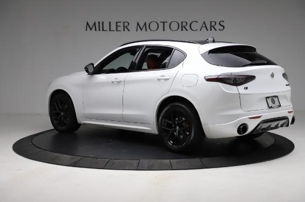 New 2021 Alfa Romeo Stelvio Ti Sport Q4 for sale $56,240 at Alfa Romeo of Greenwich in Greenwich CT 06830 4