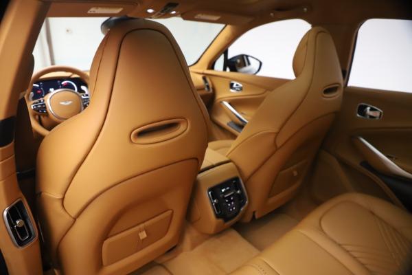 New 2021 Aston Martin DBX for sale $214,986 at Alfa Romeo of Greenwich in Greenwich CT 06830 15
