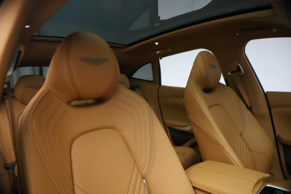 New 2021 Aston Martin DBX for sale $214,986 at Alfa Romeo of Greenwich in Greenwich CT 06830 19