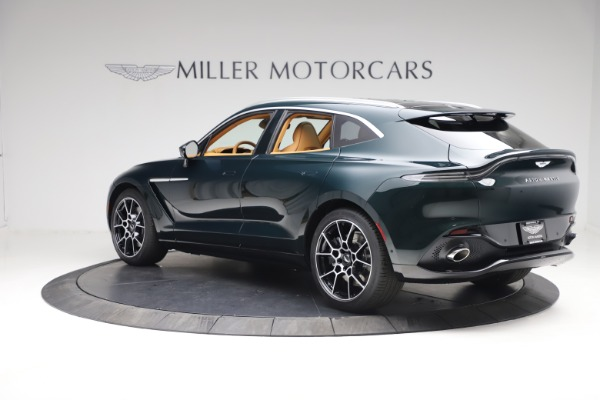 New 2021 Aston Martin DBX for sale $214,986 at Alfa Romeo of Greenwich in Greenwich CT 06830 3