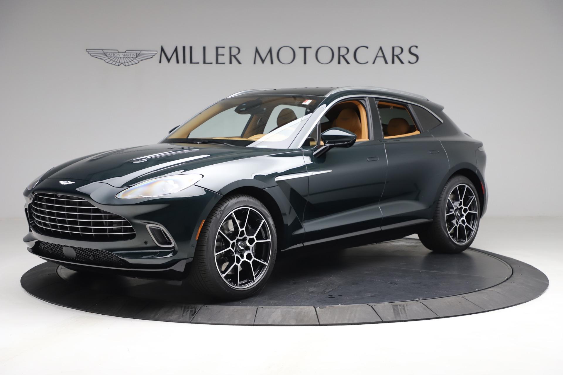 New 2021 Aston Martin DBX for sale $214,986 at Alfa Romeo of Greenwich in Greenwich CT 06830 1