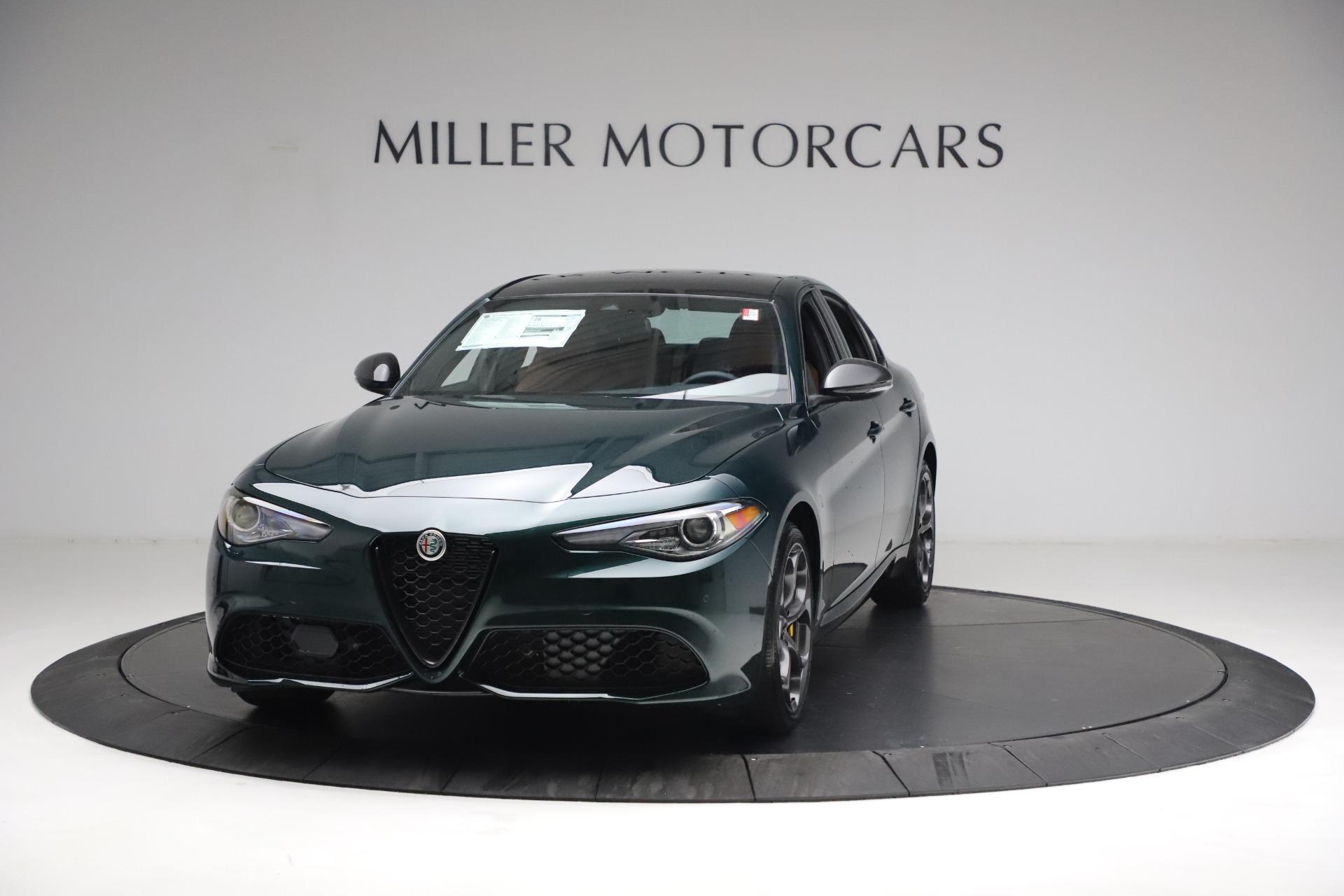 New 2021 Alfa Romeo Giulia Ti Sport Q4 for sale $54,050 at Alfa Romeo of Greenwich in Greenwich CT 06830 1