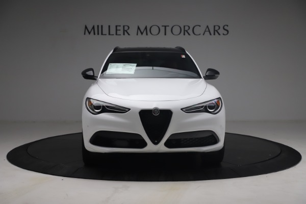 New 2021 Alfa Romeo Stelvio Ti Sport Q4 for sale $54,095 at Alfa Romeo of Greenwich in Greenwich CT 06830 13