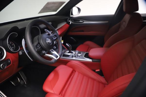 New 2021 Alfa Romeo Stelvio Ti Sport Q4 for sale $54,095 at Alfa Romeo of Greenwich in Greenwich CT 06830 14