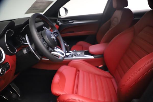 New 2021 Alfa Romeo Stelvio Ti Sport Q4 for sale $54,095 at Alfa Romeo of Greenwich in Greenwich CT 06830 15