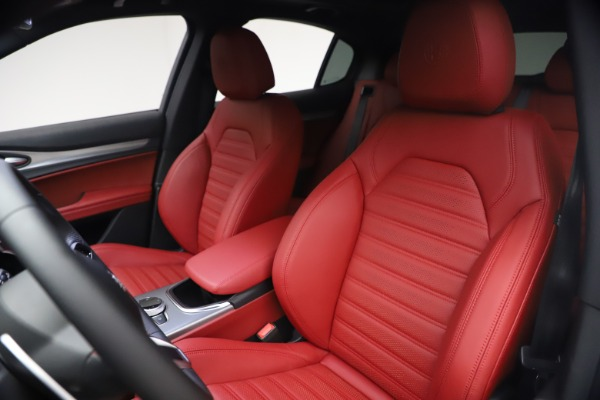New 2021 Alfa Romeo Stelvio Ti Sport Q4 for sale $54,095 at Alfa Romeo of Greenwich in Greenwich CT 06830 16