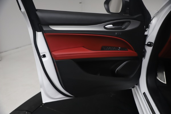 New 2021 Alfa Romeo Stelvio Ti Sport Q4 for sale $54,095 at Alfa Romeo of Greenwich in Greenwich CT 06830 17
