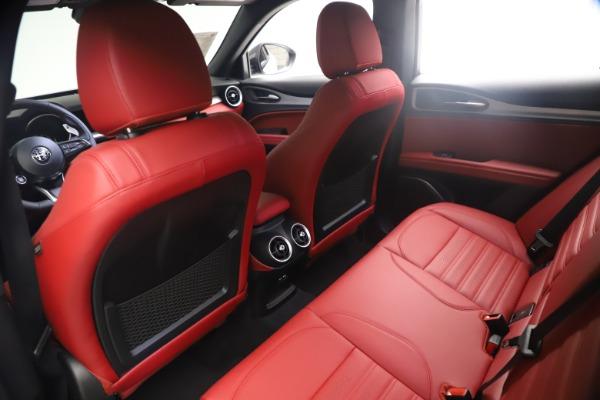 New 2021 Alfa Romeo Stelvio Ti Sport Q4 for sale $54,095 at Alfa Romeo of Greenwich in Greenwich CT 06830 18