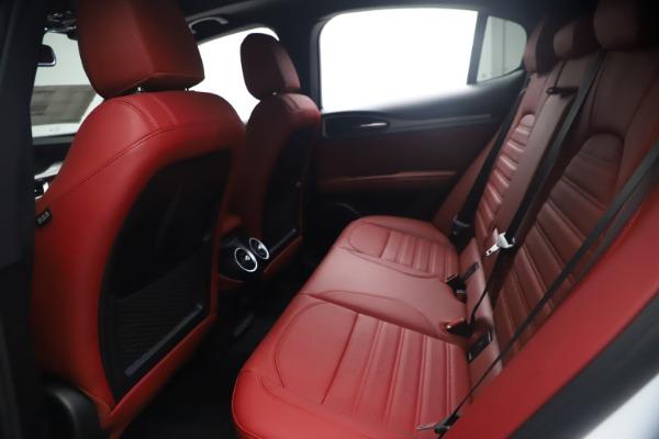 New 2021 Alfa Romeo Stelvio Ti Sport Q4 for sale $54,095 at Alfa Romeo of Greenwich in Greenwich CT 06830 19