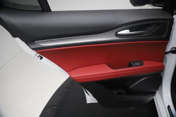 New 2021 Alfa Romeo Stelvio Ti Sport Q4 for sale $54,095 at Alfa Romeo of Greenwich in Greenwich CT 06830 21
