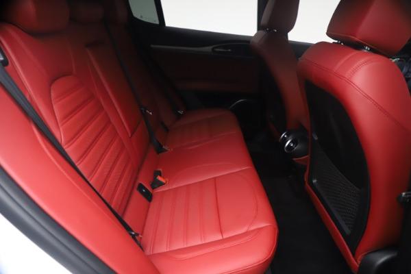 New 2021 Alfa Romeo Stelvio Ti Sport Q4 for sale $54,095 at Alfa Romeo of Greenwich in Greenwich CT 06830 26