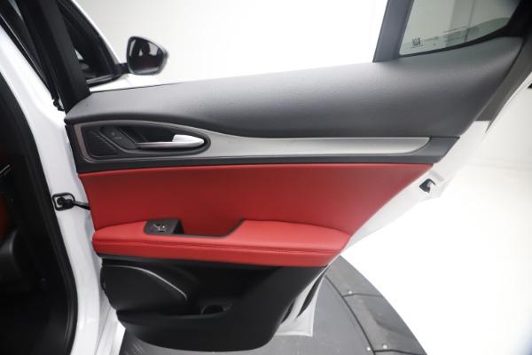New 2021 Alfa Romeo Stelvio Ti Sport Q4 for sale $54,095 at Alfa Romeo of Greenwich in Greenwich CT 06830 27