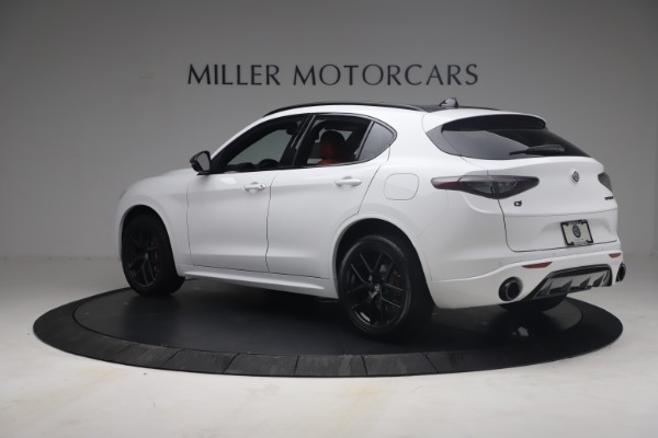 New 2021 Alfa Romeo Stelvio Ti Sport Q4 for sale $54,095 at Alfa Romeo of Greenwich in Greenwich CT 06830 5